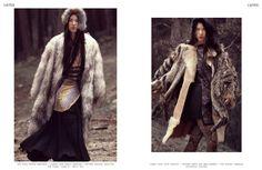 L´AUTRE magazine, editorial Mongol por jose Herrera, febrero 2012. Pantys de Platino colección invierno 2012.