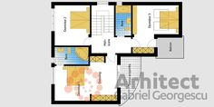Slide 9 Design Case, Nook, Architecture Design, House Plans, Floor Plans, Stairs, How To Plan, Storage, Home Decor