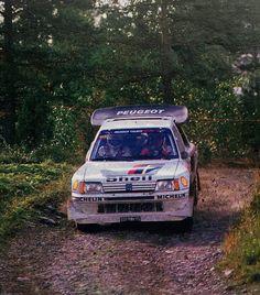 Timo salonen rally 1000 lakes 86'