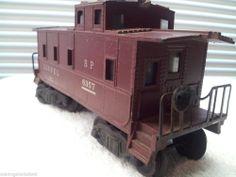 Vintage Lionel  Dark Red Caboose #6357 C-40-1 SP 9-47