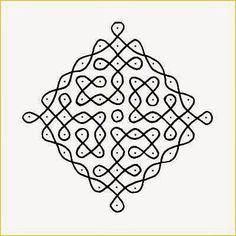 Bilderesultat for Hinduisme Indian Rangoli Designs, Rangoli Designs Flower, Small Rangoli Design, Rangoli Designs Images, Rangoli Ideas, Rangoli Designs With Dots, Kolam Rangoli, Rangoli With Dots, Simple Rangoli