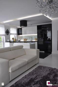 Kuchnia styl Glamour - zdjęcie od CUBE Interior Design | Kitchen ...