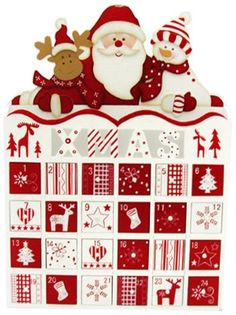 Wooden Advent Calendars with Drawers on Pinterest   Wooden advent ...