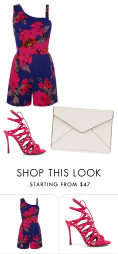 """""""Untitled #1884"""" by ania18018970 ❤ liked on Polyvore featuring WalG, Tabitha Simmons and Rebecca Minkoff"""