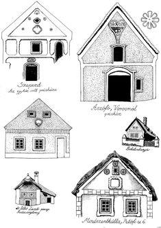 Folk Art, House Design, Cabin, House Styles, Crafts, Home Decor, Manualidades, Decoration Home, Popular Art