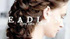 Eadlyn // Born into Royalty, Wealthy Friend Baby Girl Names Unique, Cute Baby Names, Unique Names, Kid Names, Name Inspiration, Writing Inspiration, Selection Series, The Selection, Powerful Female Names