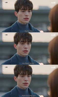 Goblin: the Lonely and Great God Saranghae Grim Reaper. Korean Drama Funny, Korean Drama Quotes, Korean Drama Movies, Korean Actors, Korean Dramas, Lee Dong Wook, Grim Reaper Goblin, Goblin The Lonely And Great God, K Drama