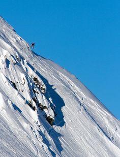 Flying over Revelstoke Mountain Resort #Revelstoke