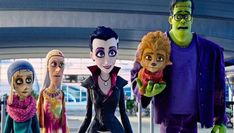 Reviews: the Monster Family The Monster Family, Celia Imrie, Emily Watson, Jessica Brown Findlay, Catherine Tate, Jason Isaacs, Anime, Fictional Characters, Image