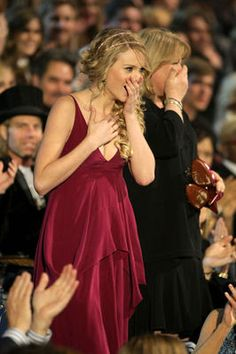 Taylor Swift at the 2008 CMT Music Awards