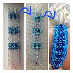 rubber band bracelet making kit instructions