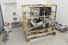 The James Webb Space Telescope Core-2 model in a cleanroom at NASA's Goddard Space Flight Center in Greenbelt, Maryland. Image Credit: NASA/Goddard/Desiree Stover