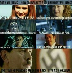 Doctor who + mean girls + Rory = omg!