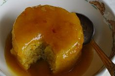 Saucy Baked Orange Pudding recipe – All 4 Women Pudding Desserts, Fun Desserts, Delicious Desserts, Malva Pudding, Yorkshire Pudding Recipes, Coconut Tart, Cake Recipes, Dessert Recipes, Citrus Recipes