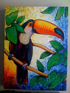 funniest tucan paintings - Google Search