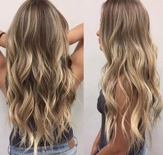 hair beauty - Ideas Hair Goals Ombre Highlights For 2019 Cabelo Ombre Hair, Balayage Hair, Ombre Highlights, Partial Highlights, Hair Day, Gorgeous Hair, Hair Looks, Pretty Hairstyles, Dyed Hair