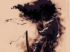 afro samourai Afro Samurai, Samurai Tattoo, Samurai Jack, Mirai Nikki, Geisha, Tokyo Ghoul, Akira, Cyberpunk, Serial Experiments Lain