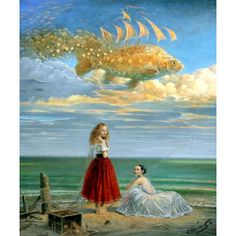 SECRETS OF MASTERY Hand Signed Limited Edition Giclee on Canvas by Listed Artist Michael Cheval