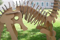 cardboard dinosaur - Google Search