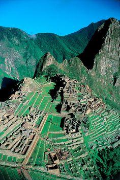 Machu Picchu, Peru / http://www.inkatrail.com.pe/