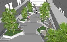 51 Ideas Commercial Landscape Design Architecture For 2019 Commercial Landscape Design, Design Commercial, Commercial Landscaping, Modern Landscape Design, Landscape Architecture Design, Traditional Landscape, Modern Landscaping, Landscaping Design, Bamboo Landscape