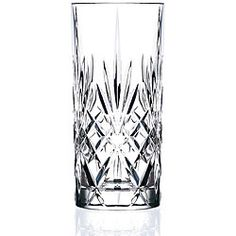Accent your kitchen with this stunning 6-piece set of crystal glasses, perfect for entertaining guests.