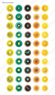 Cricut® Ribbons & Rosettes Cartridge -The combinations are endless!