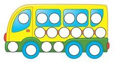 Preschool Learning Activities, Color Activities, Preschool Activities, Kids Learning, Transportation Theme Preschool, Essential Oils For Pregnancy, Reward Chart Kids, Arabic Alphabet For Kids, Do A Dot