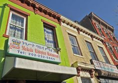 """This Washington neighborhood boasts the largest number of Ethiopians outside Addis Ababa, and accordingly """"Little Ethiopia"""" at 9th and U streets NW, is an excellent place to grab an authentic meal. Wednesday nights and Sunday midday, Dukem Restaurant hosts a free cultural show and coffee ceremony"""