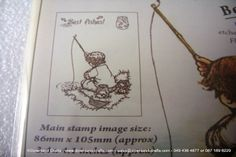 Best Fishes Rubber Stamp Sheet