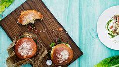 Kun kokeilet italialaista burgerisämpylää, et enää tee muita hampurilaisia