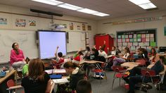 6th grade Language Arts talking about how the setting in historical fiction impacts the story. #byrampride