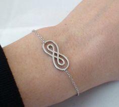 FashionJunkie4Life - Sterling Silver Infinity Bracelet, $16.99 (http://www.fashionjunkie4life.com/sterling-silver-infinity-bracelet/)