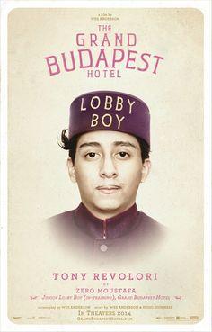Tony Revolori as Zero Moustafa ~ Junior Lobby Boy (In-Training), Grand Budapest Hotel #thegrandbudapesthotel