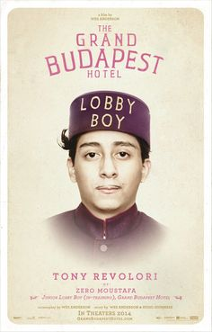 Tony Revolori as Zero Moustafa ~ Junior Lobby Boy (In-Training), Grand Budapest Hotel #thegrandbudapesthotel