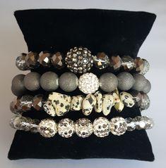 Layered bracelet set by Katherine Kelly Jewelry