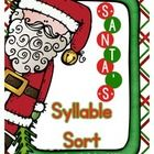 FREE! This cute little center will help your kinders work on their syllable counting skills all while using the Christmas Theme! Feel Free to Download an...