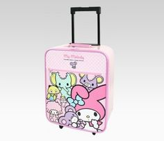 My Melody Luggage (If my future child ever travels)