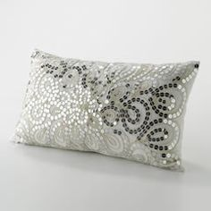 DIY with Sequins - Decorate pillows with sequins.for the couch on new  Year's