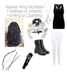 """""""Aleexia Arina McAlister"""" by greekprincess7 ❤ liked on Polyvore featuring art"""