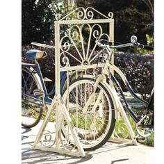 """There HAS GOT to be a DIY project for one of these!"" ~ Dahlia Bike Rack  