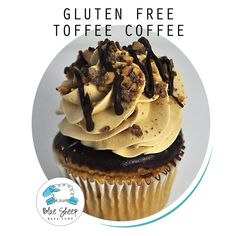 12 Toffee Coffee Gluten Free Cupcakes