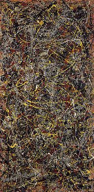 Jackson Pollock/No. 5 /1948     Glorious. I want an original Jackson Pollock in my front entry. Right, BAM!, smack in the middle... where everyone can see, but no one can touch.