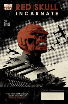 Image result for red skull comic cover