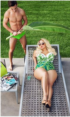 You Need To See GabiFresh's Sexy New Fatkini Line For Women Sizes 12 – 24