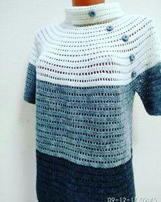 Crochet Blouse, Knit Crochet, Bolero, Easy Crochet Patterns, Sweater Jacket, Crochet Clothes, Pullover, Knitting, Projects