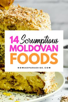 Learn all about Moldovan food with this local guide (perfect for foodies! Moldova, Foodie Travel, Banana Bread, Foodies, Dishes, Traditional, Places, Desserts, Tailgate Desserts