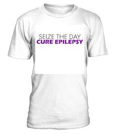 Seize the day cure epilepsy lig - tshirt - Tshirt
