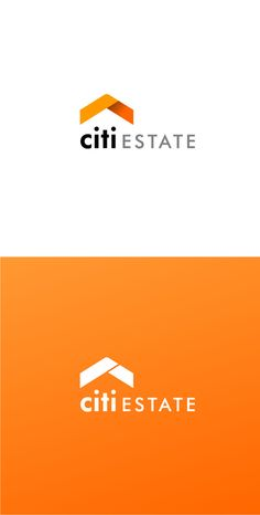 Real estate CI by Lukasz Olek, via Behance