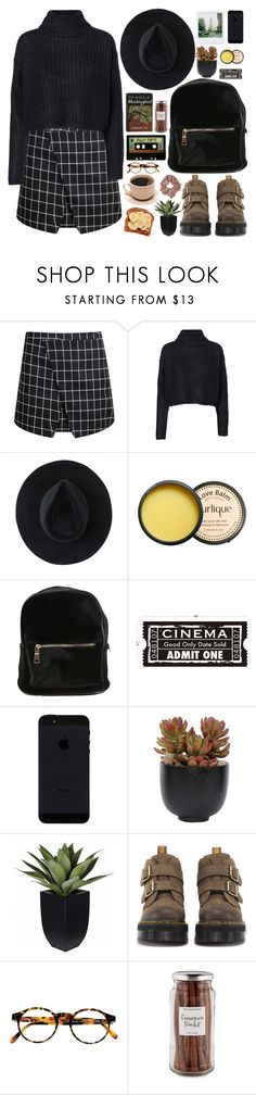 """""""Day in the city"""" by mirelletelle ❤ liked on Polyvore featuring мода, Vero Moda, Ryan Roche, Jurlique, Polaroid, Lux-Art Silks, INDIE HAIR, Dr. Martens, François Pinton и Williams-Sonoma"""